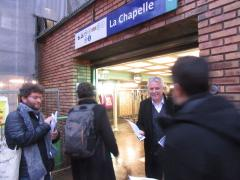 Initiative devant la station La Chapelle Nov 2018 img_8638.jpg