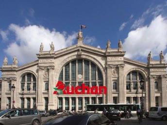 Gare du Nord Auchan_