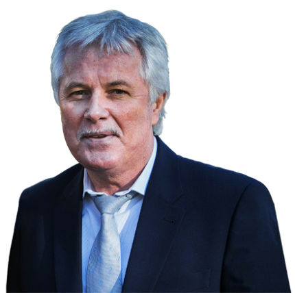 Photo de face de Didier Le Reste, sur fond transparent