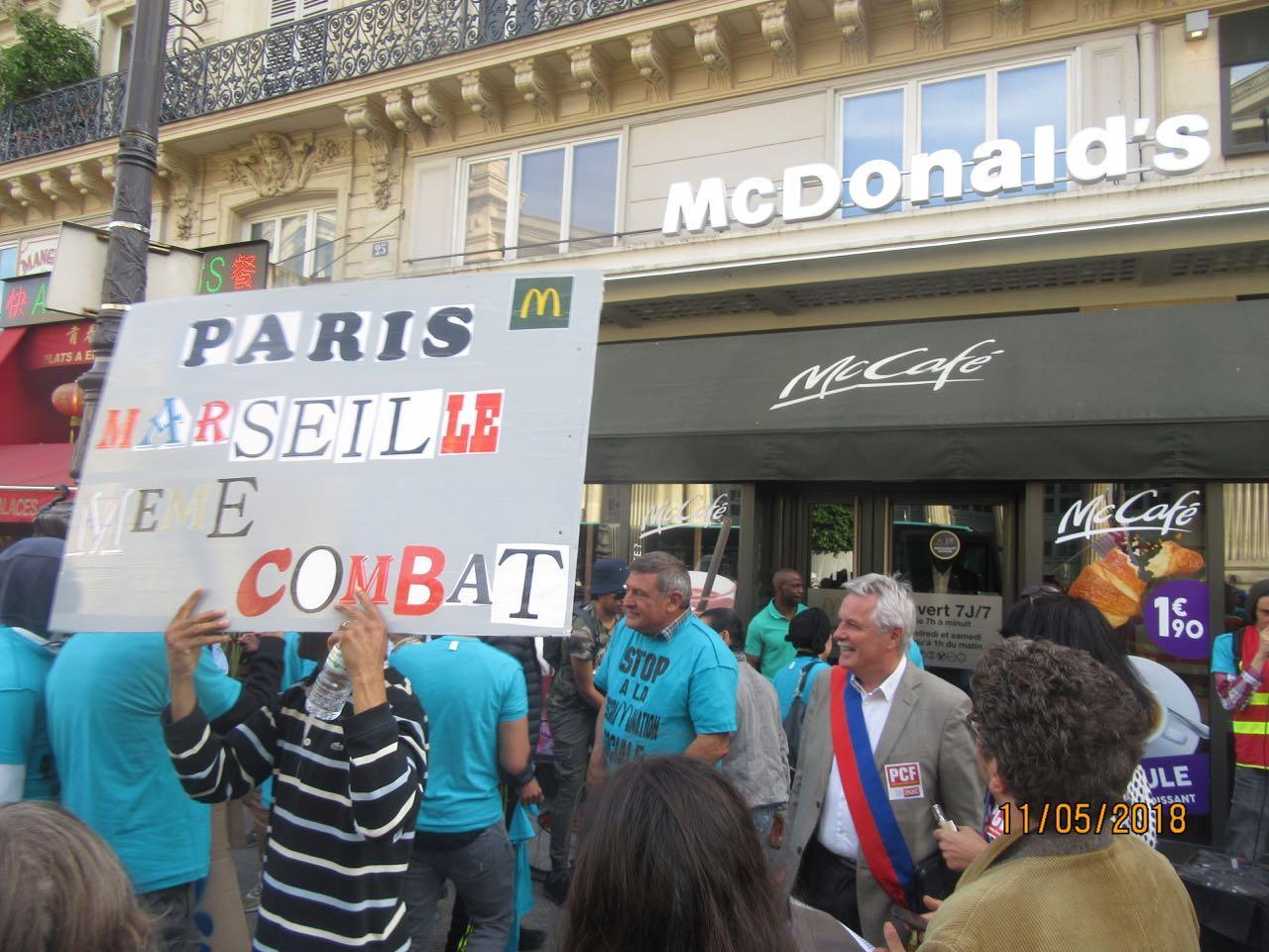Rassemblement devant McDonald's de la gare du Nord 12 mai 2018 . img_7411.jpg