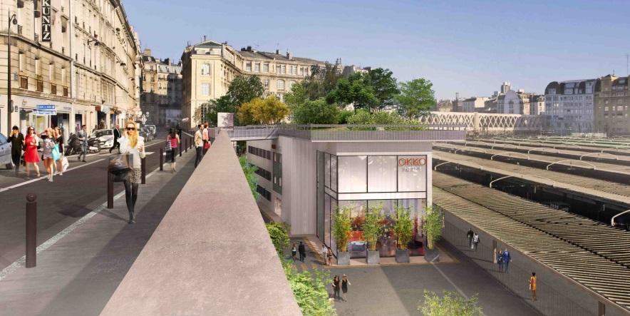 Rue d alsace le projet de balcon vert est relanc - Hotel avec piscine pres de paris ...